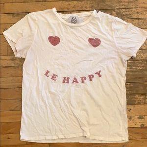 White T-Shirt -Size Large